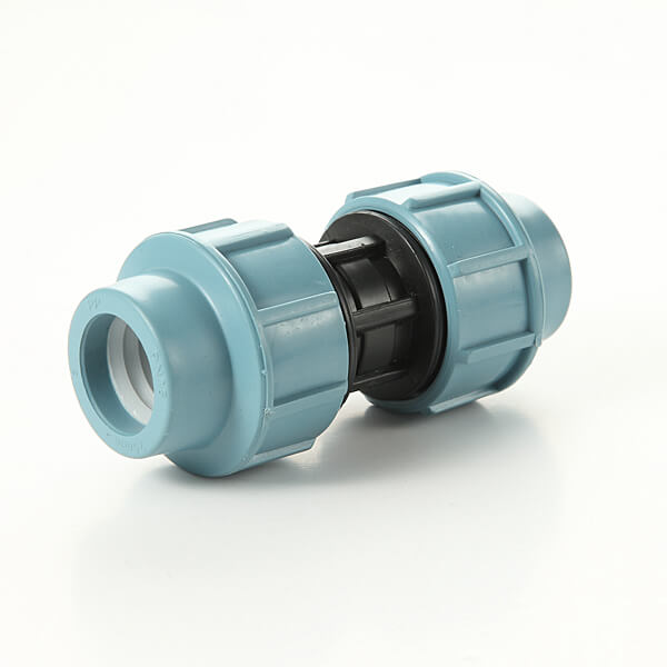 Italian style PP compression fittings