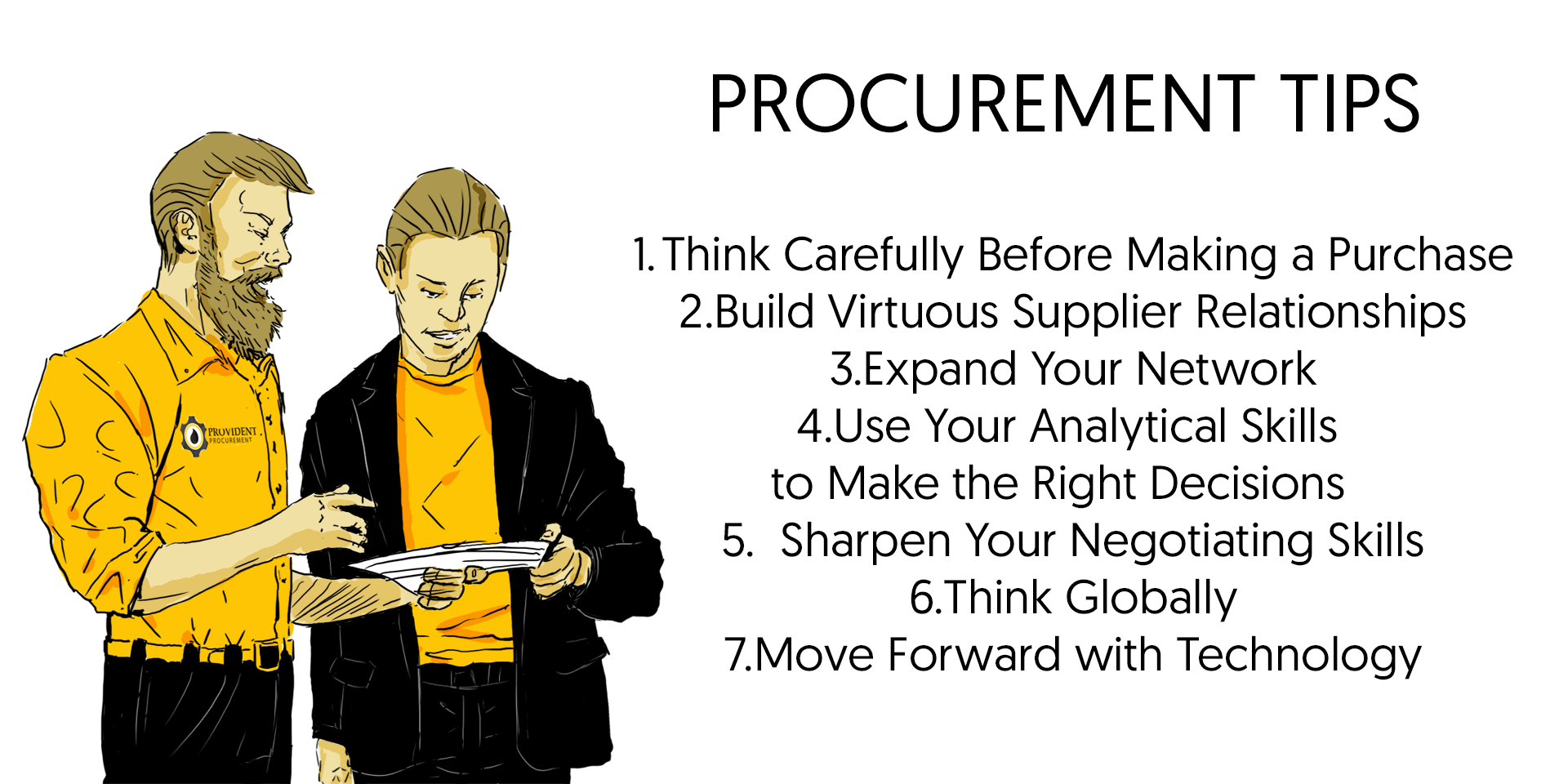 global procurement tips