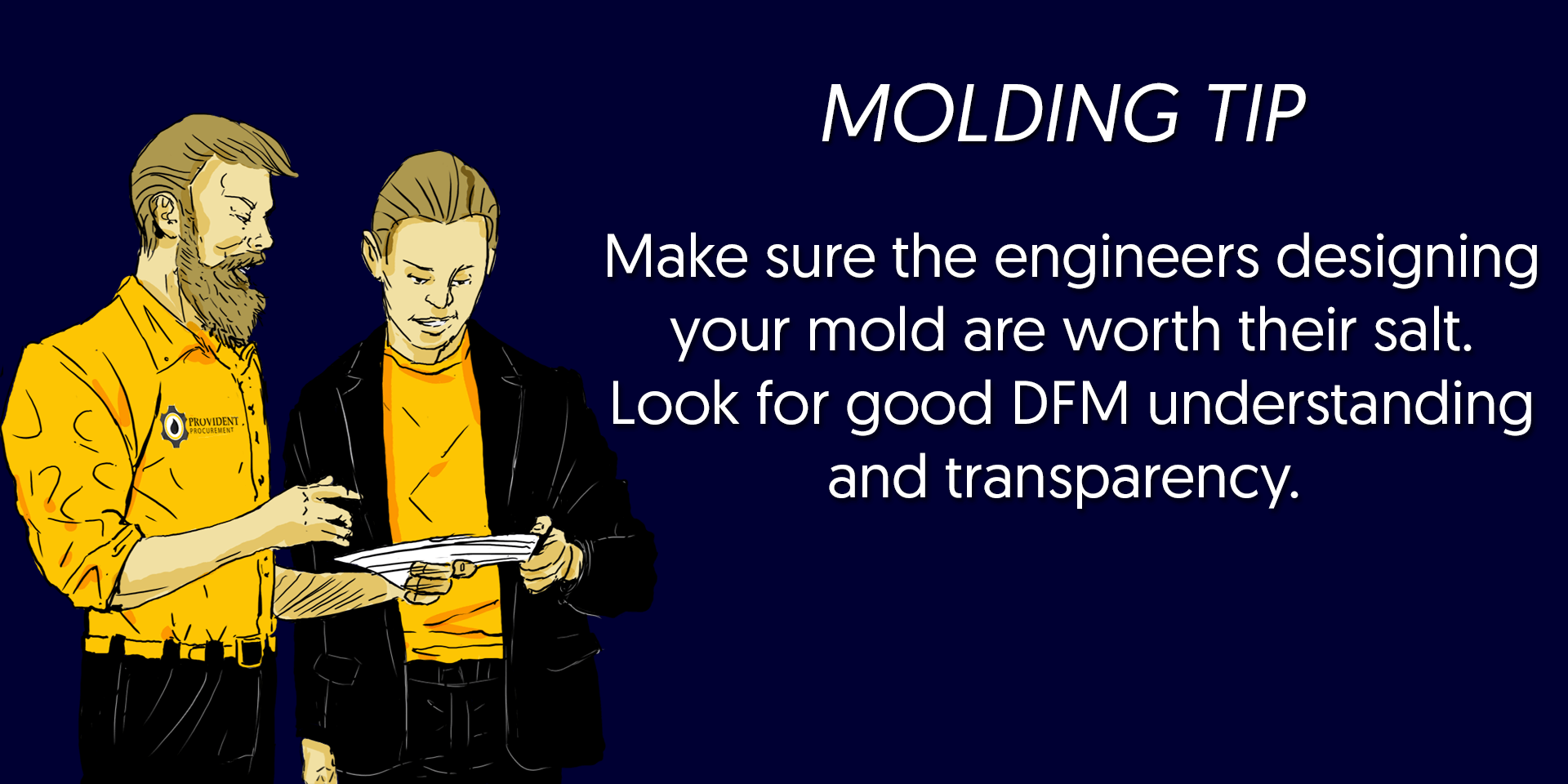 mold design and fabrication tip