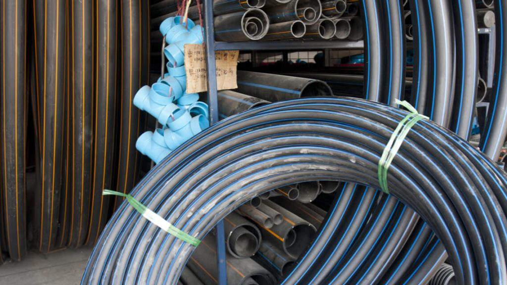 HDPE pipe and HDPE fittings