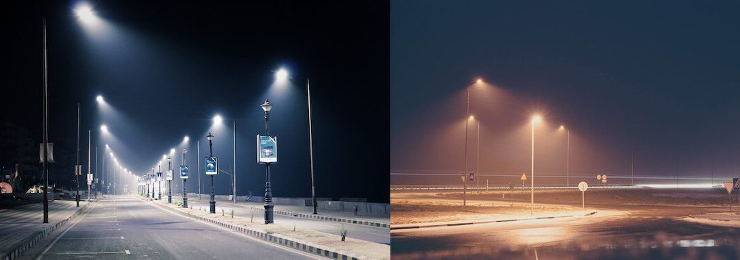 Case Study For City Planners: LED vs HPS Street lights
